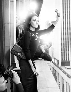 Mila Kunis for Dior | Tom & Lorenzo