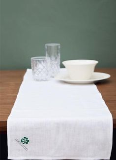 Designed exclusively for Blarney Woollen Mills, this elegant table runner is the perfect way to bring a piece of Ireland into the home. Elegant Table, Table Runners, Ireland, Irish, Embroidery, Home Decor, Design, Needlepoint, Decoration Home