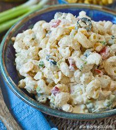 Macaroni Salad Recipe - RecipeChart.com