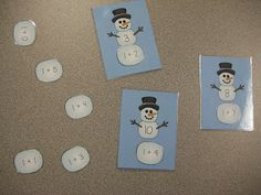 The Kindergarten Pod: January Math Center Activities LOADED with fun, winter-themed activities to keep your Kinder's learning this month!
