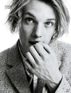 Jamie Campbell Bower - Jace Wayland from the Mortal Instruments series Jamie Campbell Bower, James Campbell, Sweeney Todd, Beautiful Men, Beautiful People, Shadowhunters, Jace Wayland, City Of Bones, Lily Collins