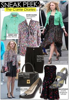 The Carrie Diaries look