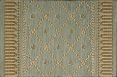 """Nourison Ashton House A03R Surf Stair Runner is made of 100% New Zealand wool and face to face woven on Wilton looms. The simplicity of this carpet runner in the blue green hue makes it extremely versatile and complimentary to any style. Available in 27"""" and 36"""" widths. Visit Rug Goddess to choose yours!"""
