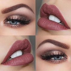 The perfect makeup palette for an autumn wedding … makeup wedding brown eyes The perfect make-up range for a fall wedding up … - My WordPress Website Blue Eye Makeup, Skin Makeup, Beauty Makeup, Makeup Style, Small Eyes Makeup, Makeup Looks For Green Eyes, Bridal Makeup For Green Eyes, Makeup Eyeshadow, Mauve Makeup