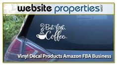 Amazon Fba Business, Sell Your Business, Business Sales, Online Business, Amazon Seller, Online Entrepreneur, Business Website, 15 Years, Vinyl Decals