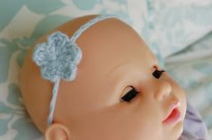 Alli Crafts: Free Pattern: Baby Headband - Stretchy