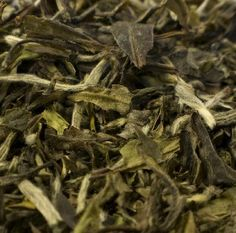 Ginger - Peach White Tea (100% organic)  A nice combination of spicy ginger and sweet peach in this organic, white tea. Makes also an excellent iced tea.  Ingredients: white tea leaves, peach and ginger flavoring