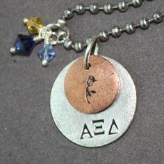 Alpha Xi Delta Rose