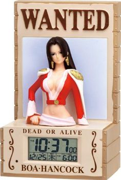 ONE Piece 3d Sound Alarm Clock - Boa Hancock