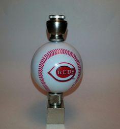 Cincinnati Reds Baseball Pipe Nickel  Wedge Smoking Pipe with  Team Logo Baseball by DCHelmetPipes on Etsy
