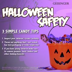 tips for making sure that your halloween candy is safe to eat