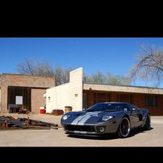 Twin Turbo Ford GT! Would not mind one of those!!