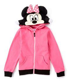 Love this Lollipop Minnie Mouse Hoodie & Plush Toy - Toddler & Girls on #zulily! #zulilyfinds