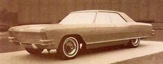 OG | 1963 Buick Riviera Mk1 Four-door hardtop | Full-size mock-up