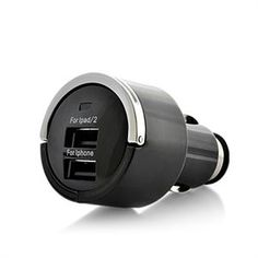 $15.00.  Ipad or iphone Mini Car Dual Charger.  http://www.sweetdealoftheday.us/-15.html#