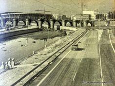 La M-30 el día de su inauguración con el Puente de Toledo y el Calderón al fondo. Foto: ARCM.