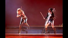 """Virtuoso violinist Caroline Campbell and rockstar cellist Tina Guo perform the theme from """"Wonder Woman"""" at a worldwide event for Nuskin! Caroline Campbell, Cello Concerto, Piano Man, 6 Music, Meditation Music, Popular Music, Music Artists, The Incredibles, Wonder Woman"""