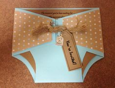 "... Design by Julia: The ""Rustic-Vintage"" Diaper Baby Shower Invitation"