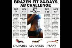 Brazilian ab workout