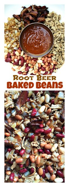 Root Beer Baked Beans   ReluctantEntertainer.com #LaborDay