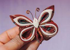 Tutorial: silk, satin or organza butterflies