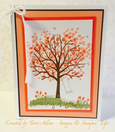Sheltering Tree, Occasions 2015 catalog, Stampin' Up!