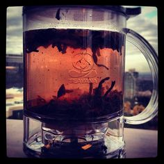 In full steep | Teavana PerfecTea Maker   I use it every single day at least once!