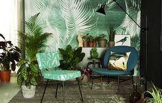Arredi e accessori in stile tropicale