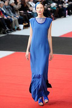 Alexis Mabille Spring 2010 Haute Couture Blue Dress on exshoesme.com