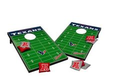 NFL Football bean bag tailgate toss game. This exciting Texans game can be…