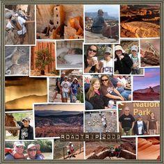 travel scrapbook layouts | Travel Scrapbooking | General Scrapbook Layouts