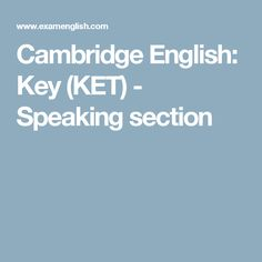 30 Best KET images in 2018 | English test, Cambridge english