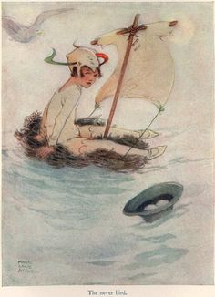 Peter Pan and Wendy illustrated by Mabel Lucie Attwell, 1921