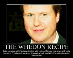 The Whedon Recipe.