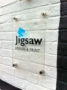 Cute sign idea #office #signage #moderndesign http://www.ironageoffice.com/