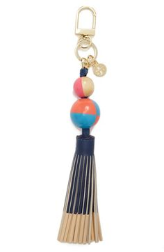Tory Burch Dipped Leather Tassel Bag Charm available at #Nordstrom