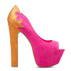 Annabelle by Scene $46.95 Instead of pink I want green & to make Loki heels!