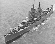 USS Quincy (CA-71) was a Baltimore class heavy cruiser of the US Navy. during the 1950's. (google.image) 01.18