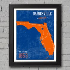 University of Florida Print by UniversityPrints on Etsy, $12.00