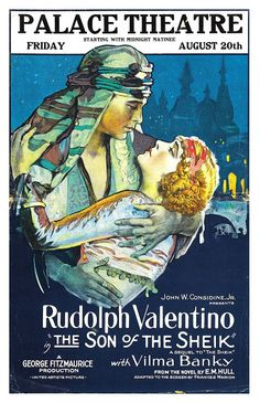 """The Son of the Sheik"" is a silent drama/adventure film made in 1926. The film starred Rudolph Valentino and Vilma Bánky. It is based off a romance novel that was written in 1925 titled ""The Son of the Sheik""."