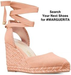 These warm-weather wedges are distinguished by a luxe and lightweight handwoven rope sole and an on-trend wrap-up ankle ribbon complete with SW Star logo hardware accents. Next Shoes, Women's Shoes, Hot Heels, Wedge Heels, Espadrille Sandals, Espadrilles, High End Shoes, Star Logo, High Wedges