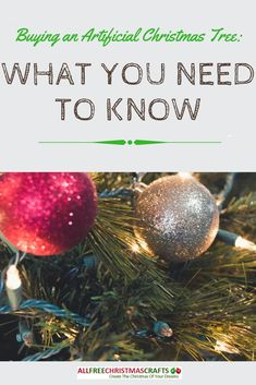Buying artificial Christmas trees isn't always an easy task! With our artificial tree buying guide, you'll have the info to make your experience a success. Christmas Tree Guide, Christmas Tree Crafts, Christmas Home, Christmas Bulbs, Merry Christmas, Artificial Tree, Craft Materials, Need To Know, Dreaming Of You