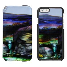 Gorgeous Colors Stain Glass Nature iPhone 6/6s Wallet Case - cool gift idea unique present special diy