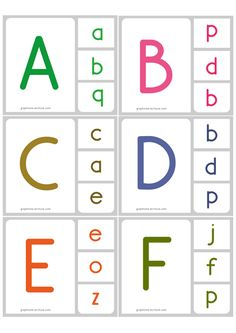 Printable Manuscript UPPERCASE Lowercase Match Clip Card - Discover and identify manuscript uppercase and lowercase Letters with game. Alphabet Tracing Worksheets, English Worksheets For Kids, Alphabet Writing, Free Kindergarten Worksheets, Font Alphabet, Alphabet Activities Kindergarten, Preschool Writing, Preschool Learning Activities, Calligraphy Fonts