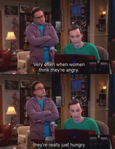 When women think they are angry...