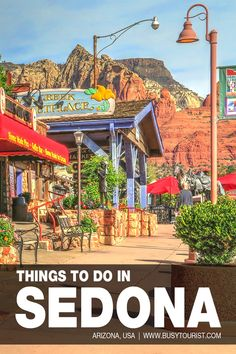 Planning a trip to Sedona, AZ and wondering what to do there? This travel guide will show you the top attractions, best activities, places to visit & fun things to do in Sedona, Arizona! Start planning your itinerary and bucket list now! #sedona #arizona #arizonatravel #arizonaroadtrip #usatravel #usatrip #usaroadtrip #travelusa #ustraveldestinations #ustravel #vacationusa #americatravel Arizona Day Trips, Arizona Travel, Sedona Arizona, Sedona Attractions, Sedona Restaurants, Sedona Hikes, Montezuma Castle National Monument, Visit Sedona, Road Trip Usa