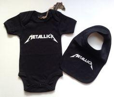 Details about  /METALLICA Unisex Baby Romper Bodysuit
