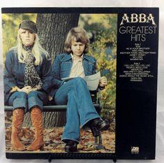 ABBA - Greatest Hits LP vinyl record - 1976 Atlantic Records - Gatefold cover by TheTimeTravelingPug on Etsy