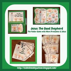 Jesus The Good Shepherd FFG & More for Preschool