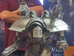The Many Faces of the New Warlord Titan | Spikey Bits